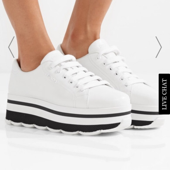 03e25ccbb3d7 Prada platform sneakers. M 5a99f033fcdc315de9bebfdc